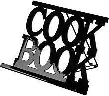 Black Enamel Finish Cook Book Cooking Recipe