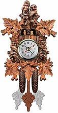 Black Forest Cuckoo Antique Clock Retro Nordic