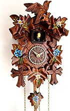 Black Forest Cuckoo Clock Carved Quartz Clock with