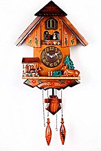 Black Forest Cuckoo Clock Vintage Wooden Cuckoo