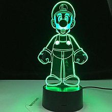 Black Friday Deal Gift Super Mario 3D Led Night
