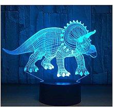 Black Friday Deal Multi Dinosaur Theme 3D Lamp