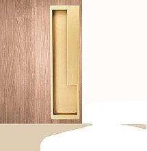 Black Gold Sliding Door Handle Hidden Door Handles