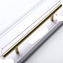 Black Golden Cupboard Handle Brushed Stainless
