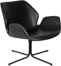 Black Nikki Lounge Chair