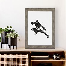 Black Panther Inspired Print | Avengers Wall Art |