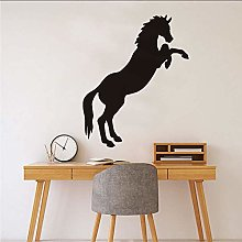 Black PVC Print Bow Wall Sticker Animal Decal