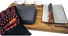 Black Rock Grill Steak on The Stone Gift Set, Hot
