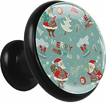 Black Round Cabinet Knobs Merry Christmas Handles