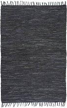 Black Rug by Bloomsbury Market - Grey