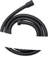 Black Shower Hose 150cm Stainless Steel Shower