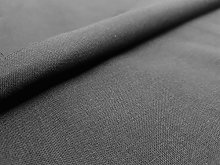 Black Silky Satin Fabric by The Metre Curtain