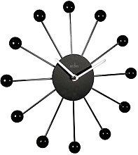 Black & Silver Hubble Wall Clock