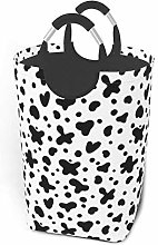 Black Spots Pattern 22.7 Inches Tall Large Storage