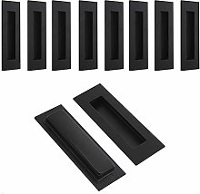 Black Stainless Steel Sliding Door Handle Cabinet