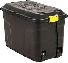 Black Storage Trunk (145ltrs), Black, Free Express