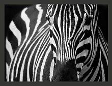 Black Striped White 1.93m x 250cm Wallpaper East