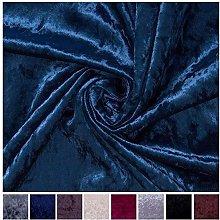 Black Superb Shimmery Bling Design Heavy Velvet
