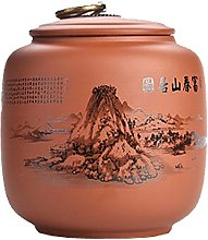 Black Temptation Ceramic Tea Canister Coffee Tins