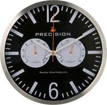 Black Wall Clock-Precision