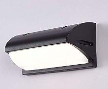 Black Wall Lamp Waterproof IP44 Wall Lamp LED