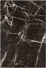 Black & White Marble Rug - 120x170cm