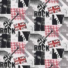 Black / White / Red / Grey - F56909 - ROCK - Music