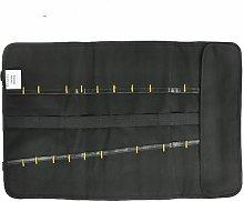 Black winding tool kit with adjustable buckle, 22