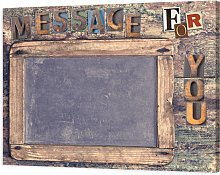 Blackboard MESSAGE FOR YOU G3636 PINTDECOR