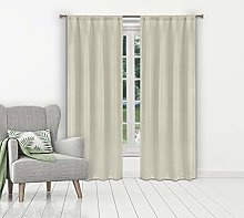 Blackout 365 Blackout Curtain Set, Stone, 38x84 (2