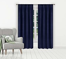 Blackout 365 blackout curtains for bedroom, Navy,