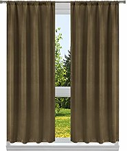 Blackout 365 Room Darkening Blackout Curtain Set,