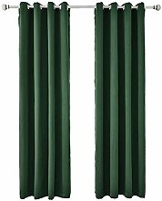 Blackout Curtain 2 Panels Soft Thermal Insulated