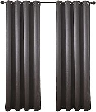 Blackout Curtain 2 Panels Thermal Insulated Drape
