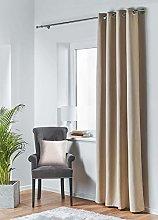 Blackout Curtain Beige