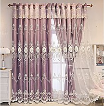 Blackout Curtain Double Layer for Living