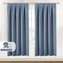 Blackout Curtain Set, Thermal Insulated & Energy