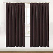 Blackout Curtains 2 Panels Set Room Cooling
