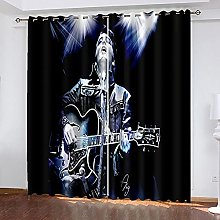 Blackout Curtains Eyelet Thermal Insulated 3D