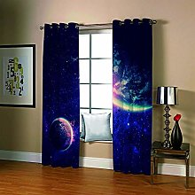 Blackout Curtains for Bedroom Eyelet Thermal