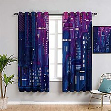 Blackout Curtains for Bedroom sonic in green hill