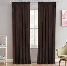 Blackout Pencil Pleat Curtains Soft Bright Window