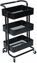 Blackpoolal 3 Tier Kitchen Trolley Portable Cart