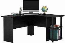 Blackpoolal L-Shape Computer Desk Table, Wood