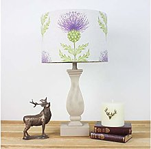 Blair Damson Thistle Country Side Drum Lampshade