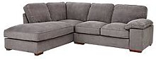Blakely Fabric Left Hand Corner Chaise Sofa