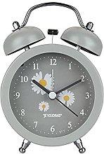 Blan Small Daisy Alarm Clock 4 Inch Metal Bell