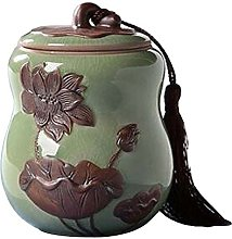 Blancho [Lotus Green] Ceramic Tea Canister Coffee