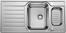 BLANCO 521754 Lantos 6 S-IF Centric Kitchen Sinks,