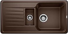 BLANCO FAVOS 6 S Kitchen Sink Silgranit Coffee, 60